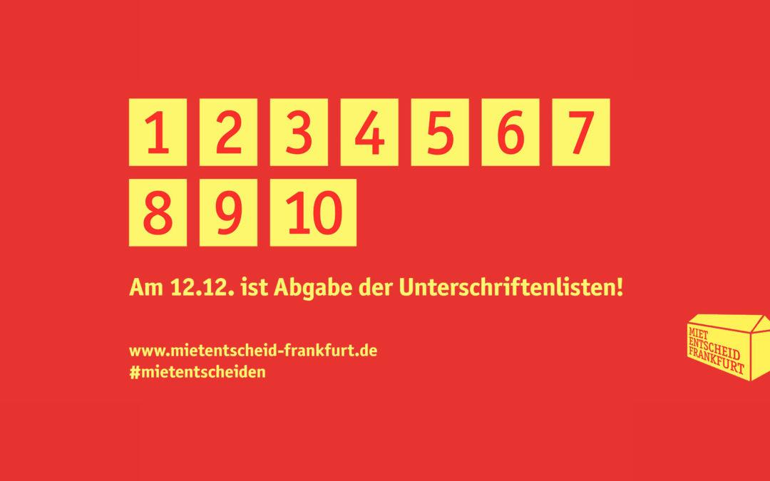 Stichtag 12.12.– Unterschriften-Endspurt für Bürger*innen-Begehren