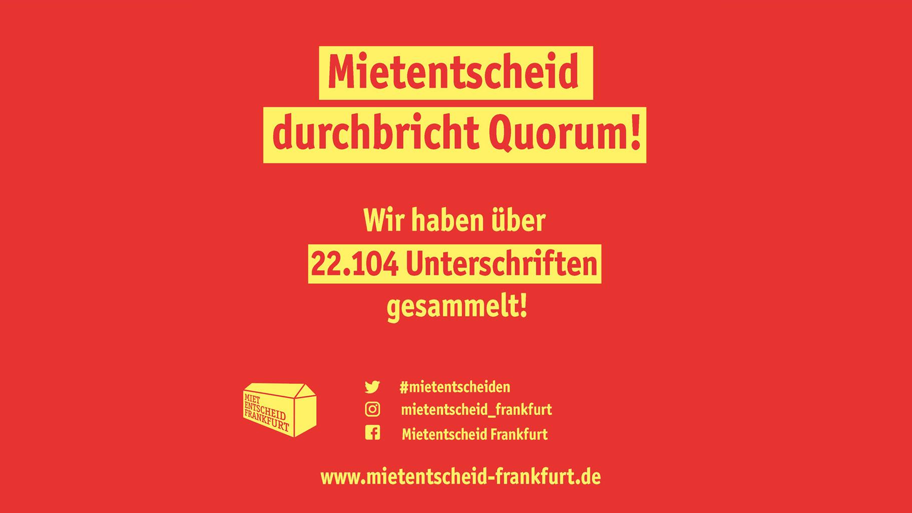 Mietentscheid Frankfurt Guter Wohnraum Für Alle