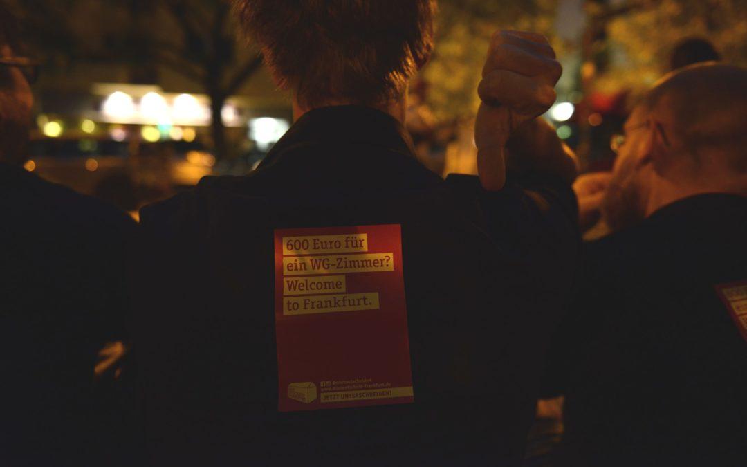 Mietentscheid goes  Sleep Out , SuperSammelSamstag & Wir Sind Mehr-Demo